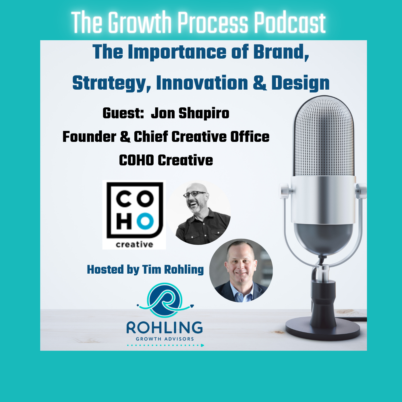 Brand & Innovation for Business Growth.  COHO Creative.  Rohling Growth Advisors